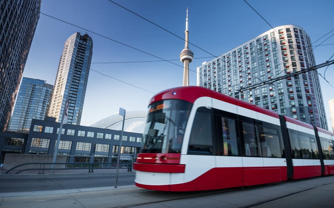 FEDERAL FUNDING FOR TORONTO TRANSIT PLANS GREAT NEWS!